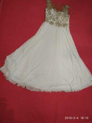 длинные платья из турции в Кыргызстан: 4000с. Роскошное платье 44-46р Турция. длина в пол. состояние ля-ля