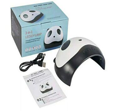 UV led lampa za nokte -Panda 3 u 1. Koristite bele LED diode za