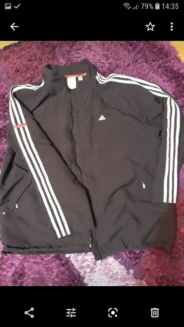 Adidas trenerka gornji deo - Srbija: Original Adidas jakna(gornji deo trenerke)