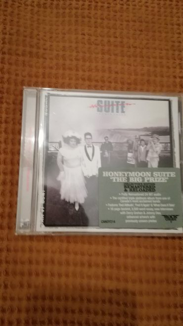 Honeymoon Suite - The Big Prize Rock Candy Remastered CD σε Καματερó