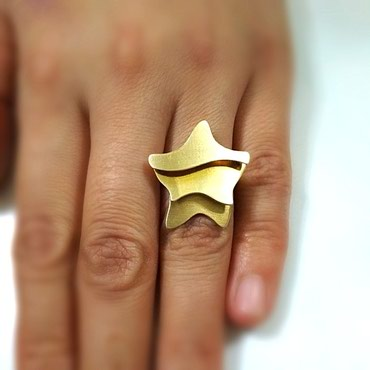 Золото, Эксклюзивное золотое кольцо 750 в Бишкек