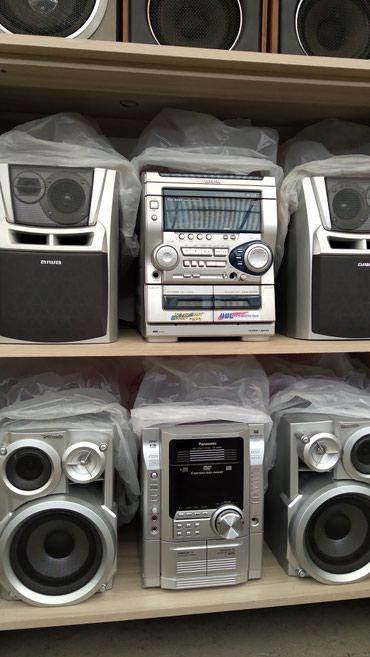 Продаю как усилитель муз центры отл. сост. отл. звук. в Бишкек