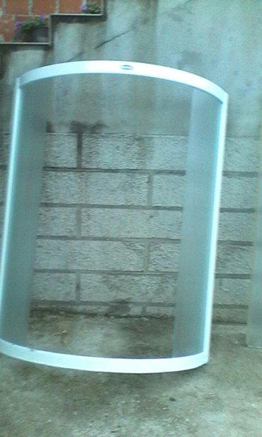 Polovna tus kabina bez kade visina stakla 150cm za ugao 80x80 cena - Raca Kragujevacka