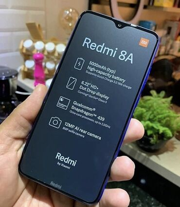 xiaomi-redmi-5 в Азербайджан: Новый Xiaomi Redmi 8A 32 ГБ Синий