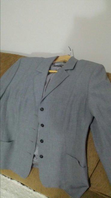Moda mi sako, jednom nošen, kao nov, ustrucen, veličina 40, dužina - Velika Plana