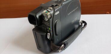 Видеокамера флешка - Кыргызстан: Продам видеокамеру Sony на диске. В хорошем состоянии. Трещин сколов и