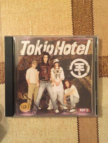 """Bakı şəhərində """"tokio hotel"""" qrupunun mahni diski."""