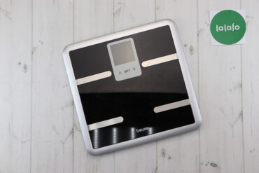 Электроника - Украина: Діагностичні підлогові ваги BEURER BG 40 Black з аналізом складу тіла