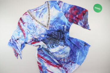 1537 объявлений: Жіноча блуза з принтом, р. L   Довжина: 64 см Довжина рукава: 30 см На