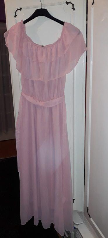 Haljina bolje stoji punijim osobama duzina materijal pa - Srbija: Nova duga haljina, vrlo lagan materijal