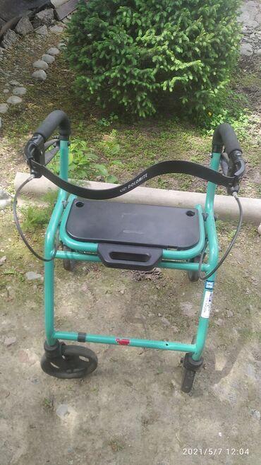 Инвалидные коляски - Кыргызстан: Продаю. Ходунки для взрослых,,, состояние