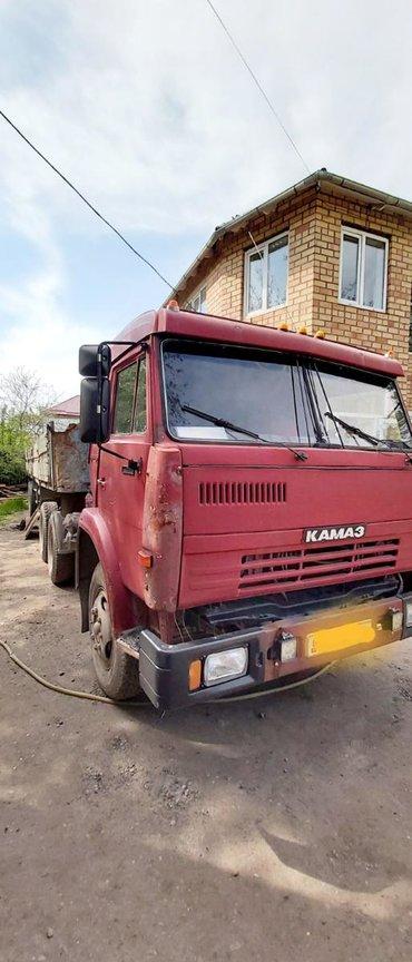 шины для грузовиков в Кыргызстан: Продаю КамАЗ тягач с прицепомВ хорошем состоянии на ходу шины 70%