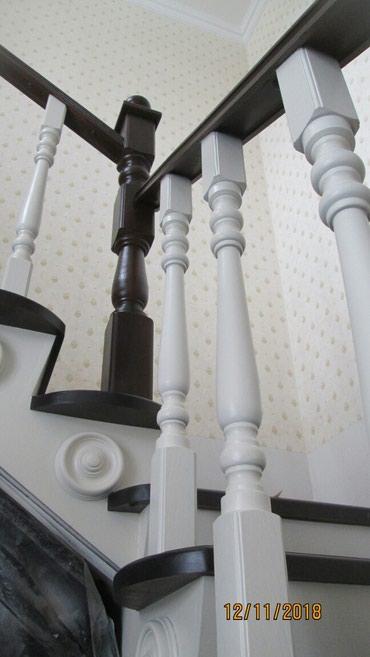Професиональная реставрация  лестниц. спальных гарнитуров. в Бишкек