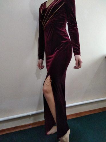Продаю платье. размер 46 .Ткань стрейч-бархат.800сом в Бишкек