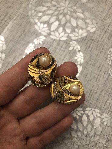 zaponkalar - Azərbaycan: Старинные запонки. Материал простой. Не использовались. Цена окончател