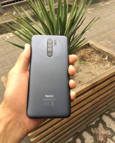 Xiaomi Redmi 9 | 32 ГБ | Серый | Б/у | Сенсорный, Отпечаток пальца, Две SIM карты