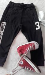 H&M φουτερ παντελόνι βαμβακερο για παιδακι 4μιση - 5 μιση ετων