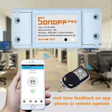 Умный дом sonoff wi - fi выключатель с в Bakı