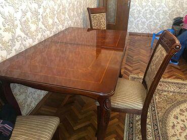 Masa ve oturacaq desti birlikde 430 man.6 eded oturacagi
