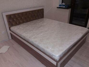 Двуспальная кровать на заказ,Качественные материалы,Металлокаркас
