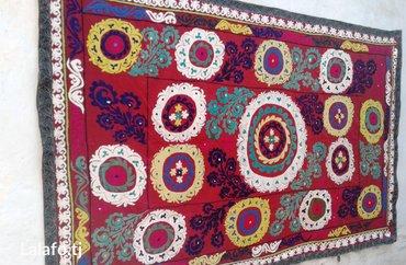 Сюзане старинное ручной работы на сатиновой основе. Размер: 2.50х 1.55 в Душанбе