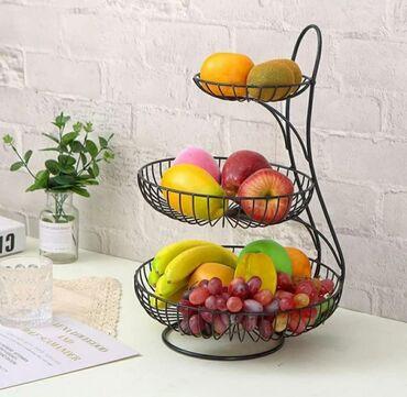352 объявлений: Этажерки для фруктов и сладостейЦены от 1500сом и вышеДля заказа и