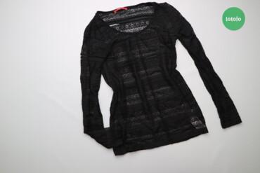 Женская одежда - Украина: Жіночий лонгслів тонкої в'язки Edc, p. L    Довжина: 61 см Ширина плеч