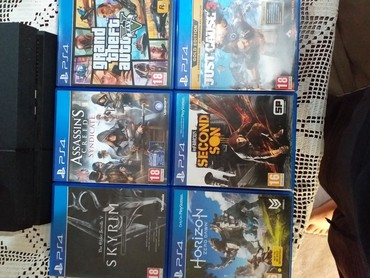 Play Station ps4 igrice ODLIČNO - Krusevac