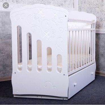 Детская кроватка с поперечным в Бишкек