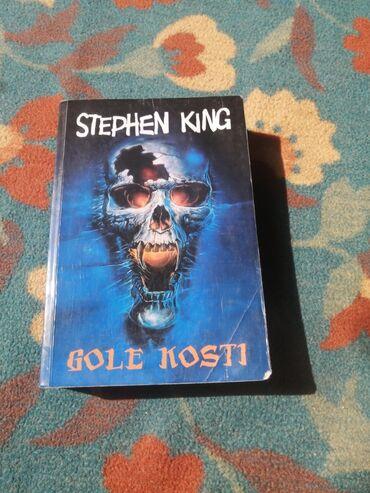 Cd - Srbija: Stephen King: Gole kosti, meki povez Knjiga je u odličnom stanju