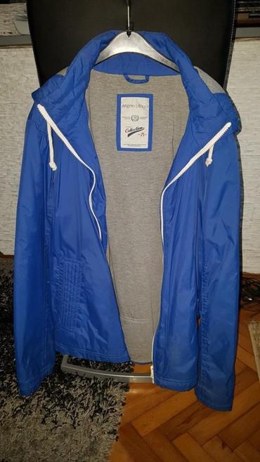 Muška odeća   Loznica: Plava muska jakna C&A L velicina 1000dinara bukvalno nova