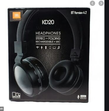 беспроводные наушники bluetooth jbl в Кыргызстан: Новые!Беспроводные Bluetooth наушники JBL KD20Отличительные