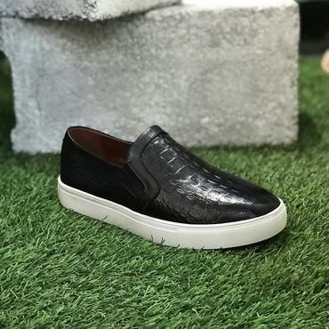 Другая мужская обувь - Кок-Ой: Мужские кожаные слипоны