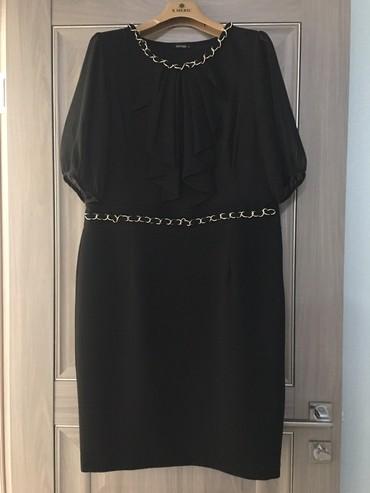 черное платье турция в Кыргызстан: Платье разм. 46-48, пр-во Турция
