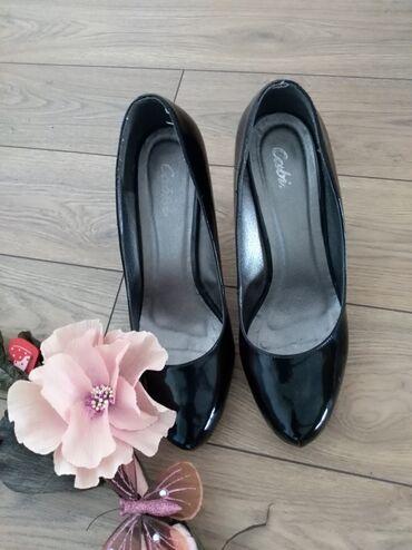 Cipele na stiklu - Srbija: Lakovane cipele na stiklu br 40Izuzetno udobne, malo korisceneImaju