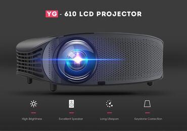 проектор-hdmi в Кыргызстан: Лучший Full HD проектор для дома. Led Projector (YG-610) с