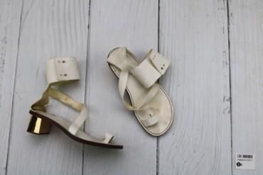 Товар: Босоножки женские Chloe, белые, размер 40, 12317.      Состояни