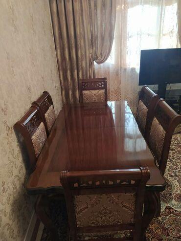 в Гарасу: Stol 6 stul teze kimi 380m satilir unvan Sumqayit&nara