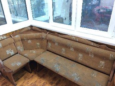 уголок диван трансформер в Кыргызстан: Уголок диван, угловая мебель. Самовывоз моссовет
