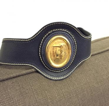 Trussardi original women's blue leather belt new. σε North & East Suburbs