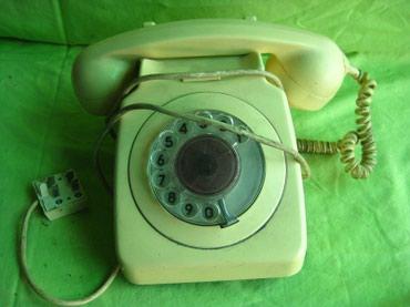 Стационарные телефоны - Кара-Балта: Телефон домашний Производство СССР Рабочий! Состояние на фото!