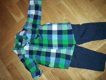 Oviese pantalone postavljene pamukom.. I tako kosulja do 9m... Gotovo - Kursumlija