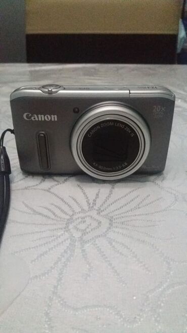 сенсорный фотоаппарат в Азербайджан: 16 gb yaddaw karti + adaptoru ile birlikde. Canon cifrovoy fotoapparat