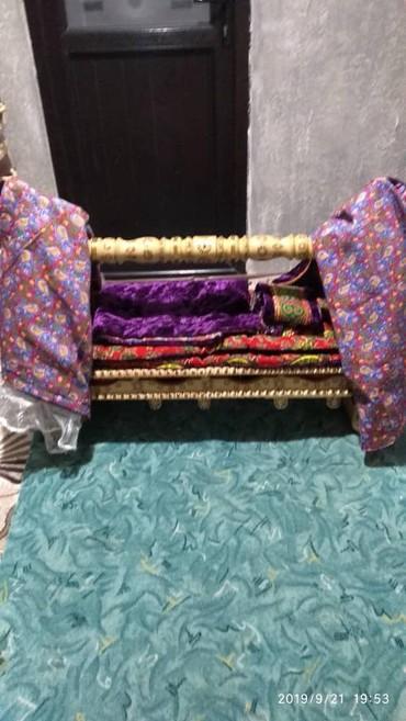 Детская мебель в Кок-Ой: Бешик төшөнчү жабдыктары менен комплект. 3500 комод 1300
