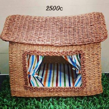 Лежаки и домики для кошек и собак.Будки на заказ. Плетёные корзины. Зо