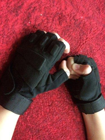 Тактические спортивно тренировочные перчатки без пальцев , размер М, с в Бишкек