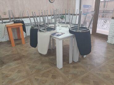 Kofe-aparati-satilir - Azərbaycan: 8 eded stol 20 eded stul tecili olaraq maya deyerinden qat-qat asagi
