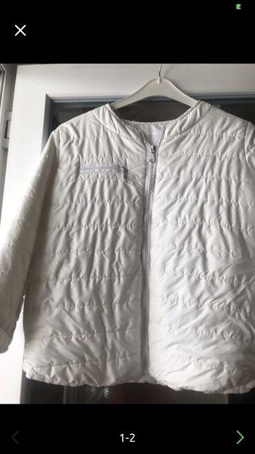 Куртка белая размер м