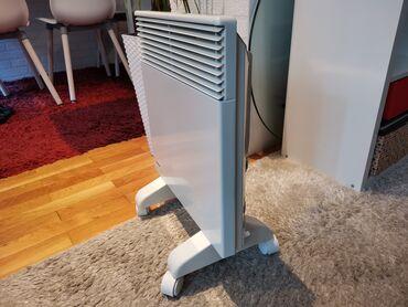 Norveski radijator 1000 W      - odlican, NOIROT - podni i zidni nosac