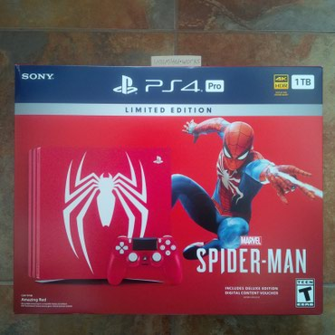 Sony - PlayStation 4 Pro 1TB Limited Edition Marvel's Spider-Man в Ёл